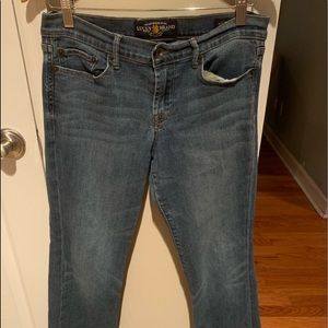 Women's Lucky Brand Blue Jeans Size 8